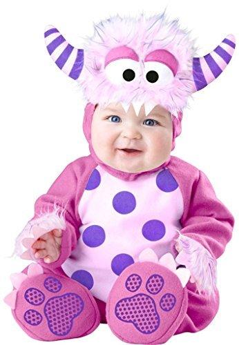 Fancy Me Baby Mädchen Rosa Lila Halloween Monster Dinosaurier Buch Tag Woche Verkleidung Kleid Kostüm Outfit 0-24 Monate - Rosa, 18-24 Months