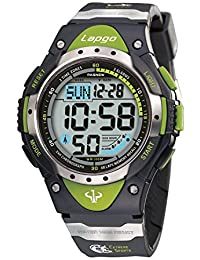 PASNEW Boys Watches Digital Watch Waterproof Sports Casual Boys Kids Watch Watches 1018D Green