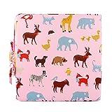 Sitzerhöhung Sterne Muster Tragbare Sitzerhöhung mit Seitentasche für Kinder (Rosa)