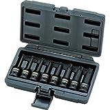 KS Tools 911.0901 Jeu de douilles à choc TORX 1/2'', 8 pièces