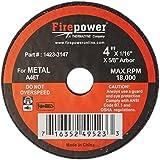Firepower FPW1423-3157 Cut-Off Wheel - 4 po x 0,06 po x 0,63 po