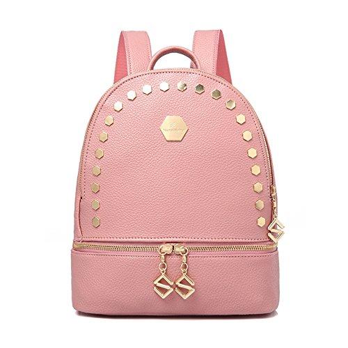 Fare doppio borse tracolla collegio femminile studenti' schoolbags Ms. vento elegante zaino C B