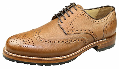 Gordon & Bros 2318, Scarpe stringate uomo alpine tan