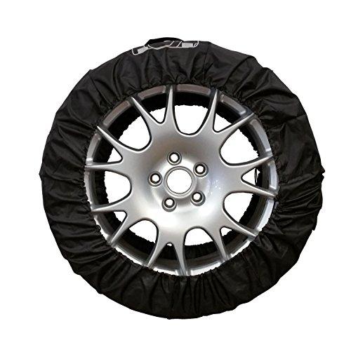 Reifentaschen Set 4-teilig 13-19 Zoll bis Reifenbreite 245mm schwarz
