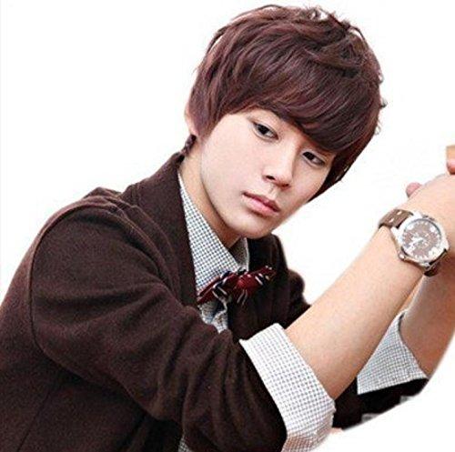 JIA1 Herren Perücke Mode Persönlichkeit Temperament coolste Frisur gut aussehende männliche Haare (Kostüme Kinder Coolsten)