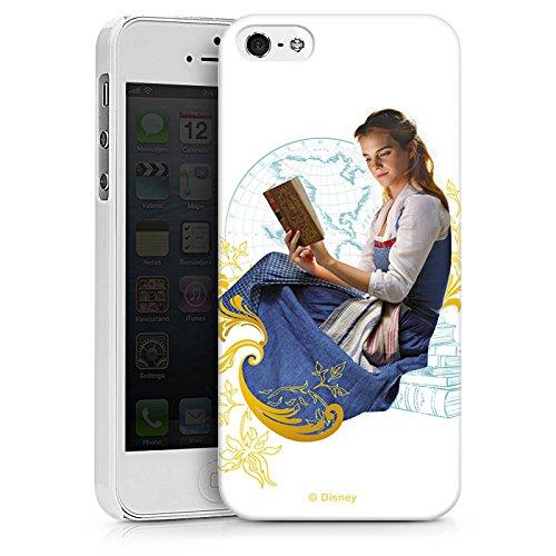 Apple iPhone X Silikon Hülle Case Schutzhülle Die Schöne und das Biest Belle Disney Prinzessin Hard Case weiß