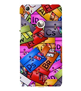 printtech Cool Pattern Back Case Cover for LeEco Le 1s