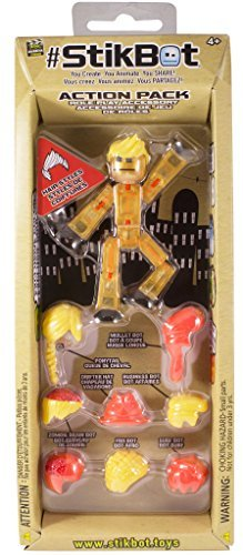 Stikbot Action Pack Gold Hair Styling by Stikbot -