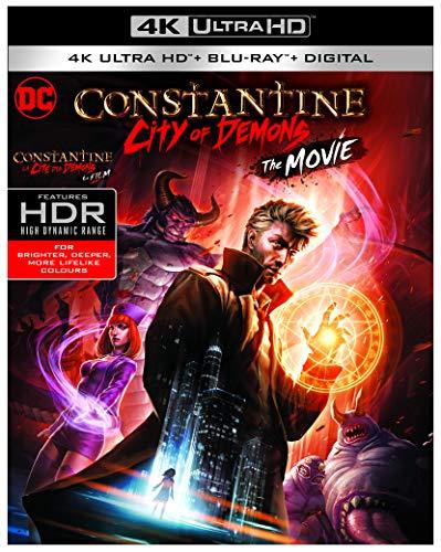 DC: Constantine: City Of Demons [UltraHD + Blu-ray Digital HD]