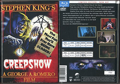 Creepshow - Limited Mediabook - Blu-Ray + DVD