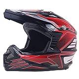 Qazwsx Motorradhelm Full Face Lokomotive Full Face Helm Vier Jahreszeiten Für Männer Und Frauen Overlay Racing Helm,M