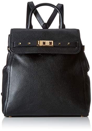 Michael Kors - Addison, Bolsos mochila Mujer, Negro (Black), 18x10x28 cm (W x H x L)