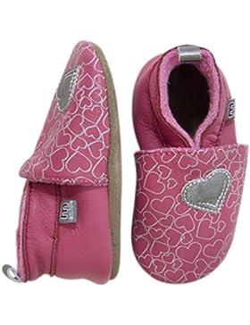 Melton Hearts Baby Mädchen Krabbelschuhe