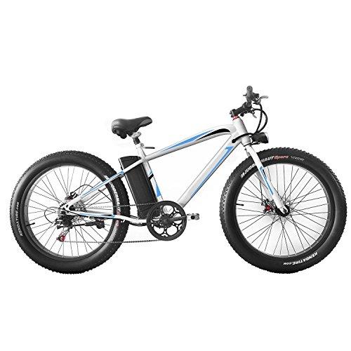 cooshional Bicicleta de Montaña Eléctrica Plegable con...