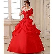 HU Moderno Vestido de Novia Vestido de Novia Vestido de Hombro Vestido Es la Palabra Hombro
