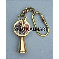 Brass Ship's Telegraph Key Chain By Nauticalmart