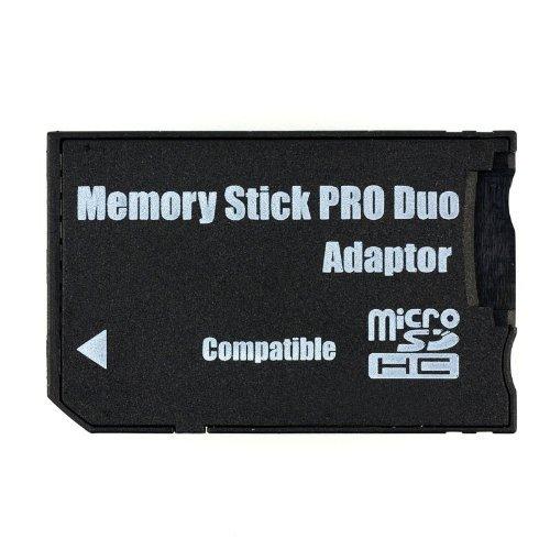 QUMOX Adapter microSD Memory Stick Pro Duo für Sony, gebraucht gebraucht kaufen  Wird an jeden Ort in Deutschland