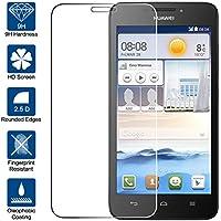 Beiuns Vidrio Templado Protector de Pantalla para Huawei Ascend G630