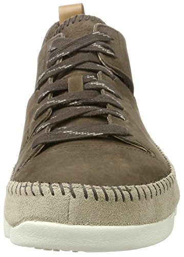 Clarks Originals Herren Trigenic Flex Sneaker Grau (peat Nubuck)