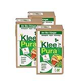 KleePura der NATURLAND Bio Dünger aus 100 % Bio Klee - 2,25 kg: 100 % ökologisches, rein pflanzliches (vegan) Bio Düngemittel, organischer NPK Dünger - ideal für Tomaten, Gemüse, Gurken, Kürbisse, Zucchini, Kräuter, Beeren, Obst, Blumen und Grünpflanzen