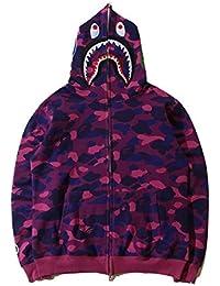 Ecolleciton@Herren Pullover Camouflage Hoodie Kapuzenpullover Unisex Kapuzen-Sweatshirt
