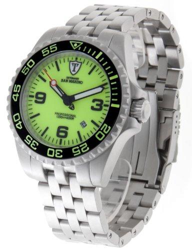 DETOMASO Herren-Armbanduhr San Analog Automatik DT1007-D