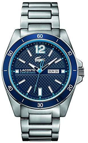 Lacoste - 2010801 - Seattle - Montre Homme - Quartz Analogique - Cadran Bleu - Bracelet