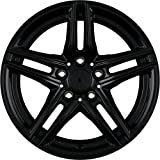 Borbet XR black glossy 7,5x17 ET35 5.00x120 Hub Bore 72.50 mm - Alu felgen