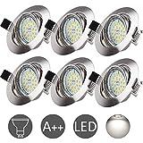 Spot Encastrable Blanc Froid Wowatt Spot GU10 LED Encastrable 6000K 6W Equivaut 50W...