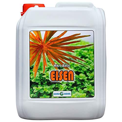Aqua Rebell Mikro Basic Eisenvolldünger 5L | Wasserpflanzen-Dünger zur optimalen Versorgung von Wasserpflanzen im Aquarium