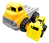 Best Gifts For 3 Year Old Boys Legos - PTL® My First Toy Dumper Construction Vehicle Set Review