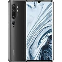 "Xiaomi Mi Note 10 Smartphone, 6 GB RAM + 128 GB ROM, Schermo 3D Curved Amoled 6.47"" FHD+, Penta Camera 108 MP, 5260 mAh, Midnight Black"