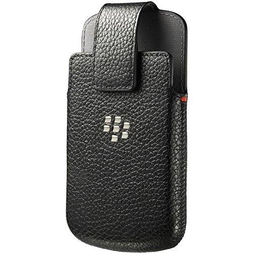 BlackBerry Leather Swivel Holster for BlackBerry Q10 - Black