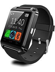 Hibote U8 Bluetooth Smart Watch Inteligente Reloj Tel¨¦fono Compa?ero para Android IOS Iphone Samsung Galaxy HTC,Sony