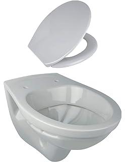Wand WC Tiefsp/üler Tiefsp/ülklosett Farbe MANHATTAN GRAU