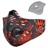 Pioneeryao Sport Maske Trainingsmaske Trainings Atemmaske Radfahren Laufen Outdoor Gesichtsmaske Starter Training Maske für Männer und Frauen