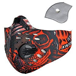 Pioneeryao Sports Mask Training Mask Training Breathing Mask Cycling Running Outdoor Face Mask Starter Training Mask for Men and Women