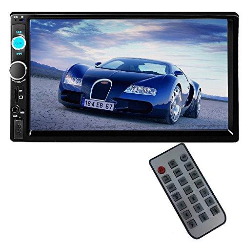 PolarLander 2 DIN 7 '' Zoll-LCD-Touch-Screen-Auto-Radio-Player Unterstützung Bluetooth Hands Free 1080P Film-Rückfahrkamera