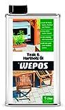 Wepos 04003 Teak- und Hartholz Öl 1 Liter