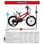 R-3048-cm-12-BMX-FREESTYLE-per-bici-per-bambini-colore-rosso-Verde-Blu-e-bianco-con-rotelle-regolabile-removaable-free-Borraccia-per-bevande-sportive-e-supporto