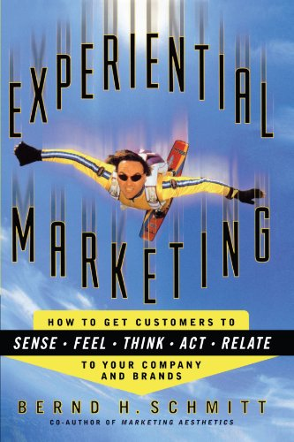 Experiential Marketing: How to Get Customers to Sense, Feel, Think, Act, Relate to your Company and Brands por Bernd H. Schmitt