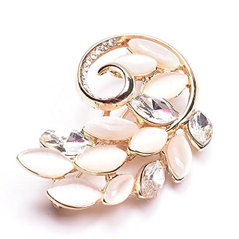 Broche De Feuille Populaire Corée Carte Décorative Mode PIN Coréens Accessoires Bijoux élégante Broche-A