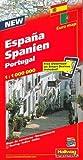 Hallwag Straßenkarten, Spanien, Portugal (Hallwag Strassenkarten) - Hallwag