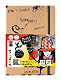 Marabu 161200100 - Art Journal Notebook DIN A5, 72 Feuilles, Papier