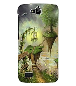 ColourCraft Beautiful Image Design Back Case Cover for HUAWEI HONOR HOLLY