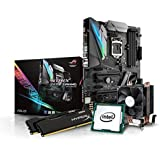 Kiebel Gaming Aufrüst-Bundle (v7): [184429] Intel Core i5-7500 Quadcore (4x3.4 GHz) | 16GB DDR4-2666 MHz | Intel HD Grafik | Sound | ASUS Strix Z270F Gaming | komplett vormontiert und getestet