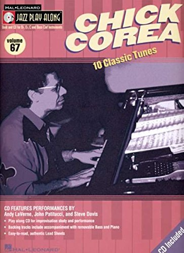 Jazz Play Along: Volume 67 - Chick Corea (Book & CD)