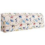 GUOWEI große Rückenlehne Kissen Kissen Rückenlehne Lumbales Bett Pad Softcase Ohne Kopfteil Nachttisch