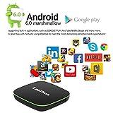 Leelbox Q1 Android TV Box Smart TV Box Quad core Android 6.0 1GB RAM+8GB ROM/WIFI 2.4GHz 4K(60HZ)/BT 4.0/HD Android Box