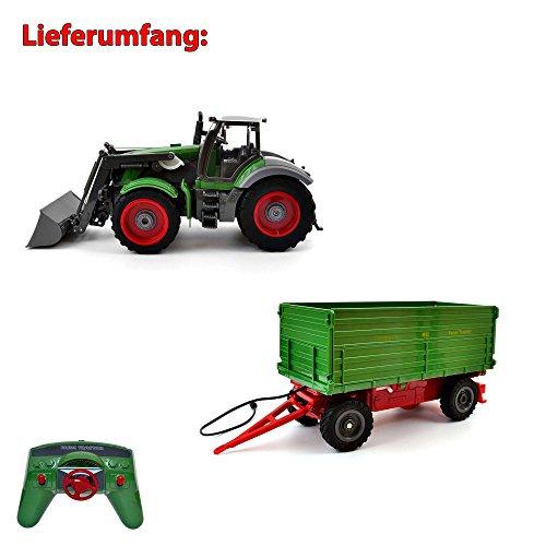 RC ferngesteuerter Traktor mit Anhänger - 7